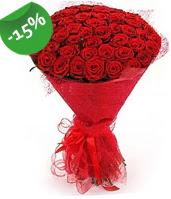51 adet kırmızı gül buketi özel hissedenlere  Gümüşhane hediye sevgilime hediye çiçek