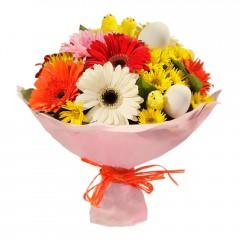 Karışık mevsim buketi Mevsimsel çiçek  Gümüşhane çiçek mağazası , çiçekçi adresleri