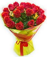 19 Adet kırmızı gül buketi  Gümüşhane kaliteli taze ve ucuz çiçekler