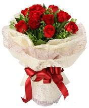 12 adet kırmızı gül buketi  Gümüşhane çiçek gönderme sitemiz güvenlidir