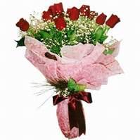 Gümüşhane hediye sevgilime hediye çiçek  12 adet kirmizi kalite gül