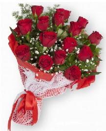 11 kırmızı gülden buket  Gümüşhane ucuz çiçek gönder