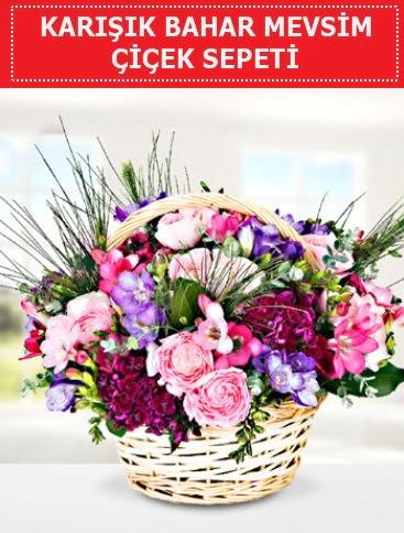 Karışık mevsim bahar çiçekleri  Gümüşhane uluslararası çiçek gönderme