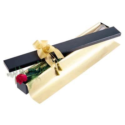 Gümüşhane çiçek yolla , çiçek gönder , çiçekçi   tek kutu gül özel kutu