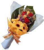 güller ve gerbera çiçekleri   Gümüşhane çiçekçiler