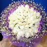 71 adet beyaz gül buketi   Gümüşhane cicekciler , cicek siparisi