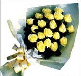 sari güllerden sade buket  Gümüşhane cicekciler , cicek siparisi