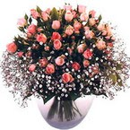 büyük cam fanusta güller   Gümüşhane internetten çiçek siparişi