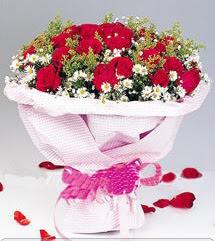 Gümüşhane çiçek online çiçek siparişi  12 ADET KIRMIZI GÜL BUKETI