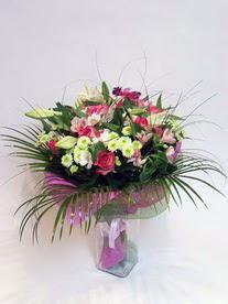 Gümüşhane 14 şubat sevgililer günü çiçek  karisik mevsim buketi mevsime göre hazirlanir.