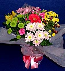 Gümüşhane 14 şubat sevgililer günü çiçek  küçük karisik mevsim demeti