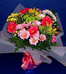 karisik sade mevsim demetligi   Gümüşhane İnternetten çiçek siparişi