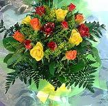 13 adet karisik gül buketi demeti   Gümüşhane çiçek yolla , çiçek gönder , çiçekçi