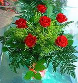 6 adet kirmizi gül buketi   Gümüşhane güvenli kaliteli hızlı çiçek