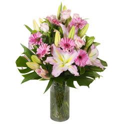 vazo içerisinde karisik mevsim çiçekleri  Gümüşhane çiçek mağazası , çiçekçi adresleri