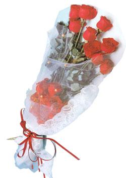 11 adet kirmizi güller buket tanzimi   Gümüşhane hediye sevgilime hediye çiçek