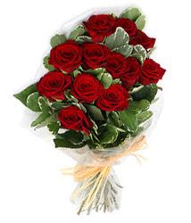 Gümüşhane çiçek siparişi sitesi  9 lu kirmizi gül buketi.
