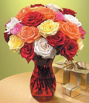 Gümüşhane çiçek gönderme sitemiz güvenlidir  13 adet renkli gül