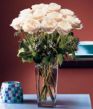 Gümüşhane çiçek yolla  Cam yada mika vazo içerisinde 12 gül