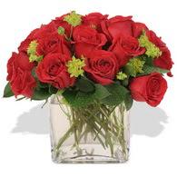 Gümüşhane online çiçek gönderme sipariş  10 adet kirmizi gül ve cam yada mika vazo