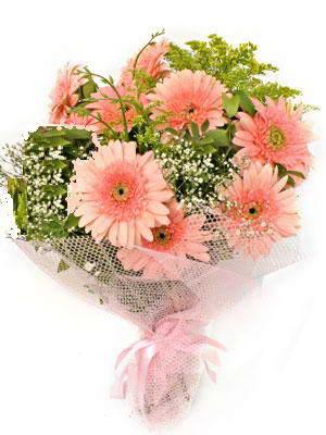 Gümüşhane cicek , cicekci  11 adet gerbera çiçegi buketi