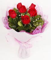 9 adet kaliteli görsel kirmizi gül  Gümüşhane çiçek siparişi vermek