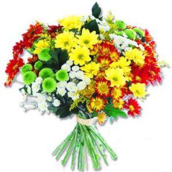 Kir çiçeklerinden buket modeli  Gümüşhane güvenli kaliteli hızlı çiçek