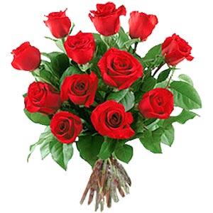 11 adet bakara kirmizi gül buketi  Gümüşhane ucuz çiçek gönder