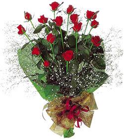 11 adet kirmizi gül buketi özel hediyelik  Gümüşhane anneler günü çiçek yolla