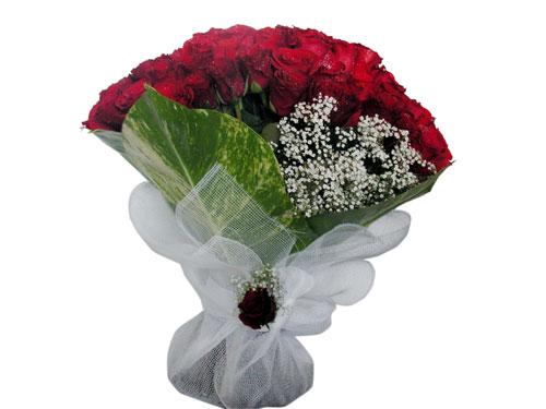 25 adet kirmizi gül görsel çiçek modeli  Gümüşhane çiçekçi telefonları