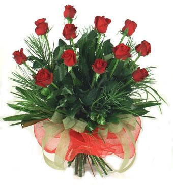 Çiçek yolla 12 adet kirmizi gül buketi  Gümüşhane ucuz çiçek gönder