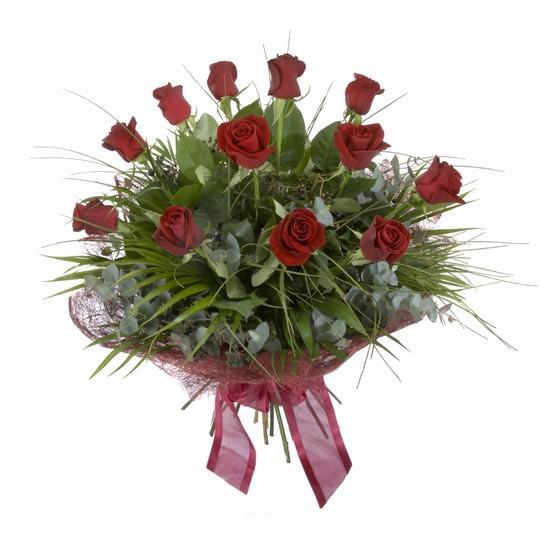 Etkileyici buket 11 adet kirmizi gül buketi  Gümüşhane çiçek online çiçek siparişi