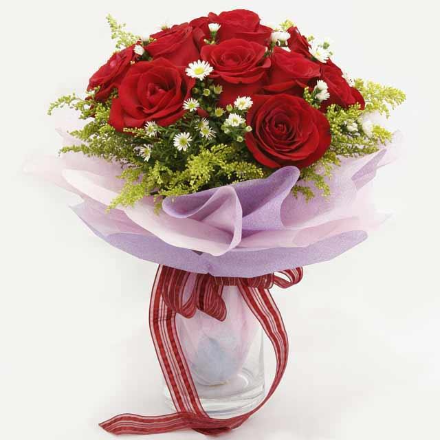 Çiçek gönderme estetikliginiz 11 gül buket  Gümüşhane anneler günü çiçek yolla