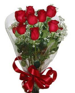 Çiçek sade gül buketi 7 güllü buket  Gümüşhane güvenli kaliteli hızlı çiçek