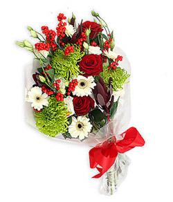 Karisik mevsim buketi çiçek tanzimi  Gümüşhane çiçek mağazası , çiçekçi adresleri