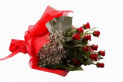Gümüşhane hediye sevgilime hediye çiçek  11 adet kirmizi gül buketi çiçekçi