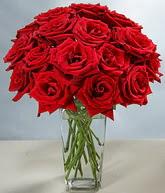 Gümüşhane anneler günü çiçek yolla  cam vazoda 11 kirmizi gül  Gümüşhane çiçek yolla