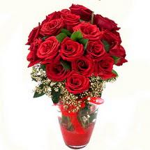 Gümüşhane hediye sevgilime hediye çiçek   9 adet kirmizi gül