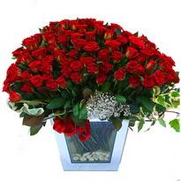 Gümüşhane çiçek servisi , çiçekçi adresleri   101 adet kirmizi gül aranjmani