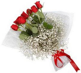 7 adet essiz kalitede kirmizi gül buketi  Gümüşhane çiçek yolla