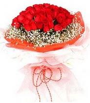 Gümüşhane çiçek yolla  21 adet askin kirmizi gül buketi