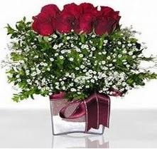 Gümüşhane çiçek online çiçek siparişi  mika yada cam vazo içerisinde 7 adet gül