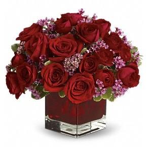 11 adet kırmızı gül vazosu  Gümüşhane çiçek servisi , çiçekçi adresleri