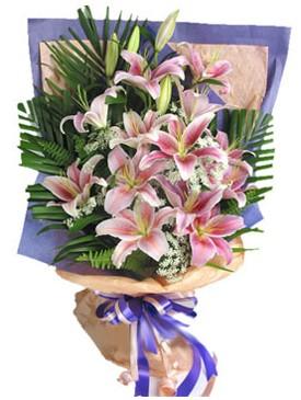 7 dal kazablankadan görsel buket  Gümüşhane çiçek , çiçekçi , çiçekçilik