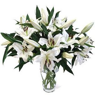 Gümüşhane online çiçek gönderme sipariş  3 dal görsel casablanca vazo tanzimi