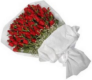 Gümüşhane internetten çiçek satışı  51 adet kırmızı gül buket çiçeği
