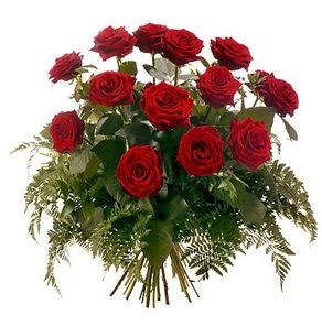 Gümüşhane çiçek online çiçek siparişi  15 adet kırmızı gülden buket