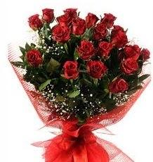 İlginç Hediye 21 Adet kırmızı gül  Gümüşhane çiçek mağazası , çiçekçi adresleri