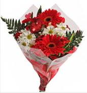 Mevsim çiçeklerinden görsel buket  Gümüşhane çiçek servisi , çiçekçi adresleri