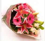 1 dal kazablanka ve mevsim çiçekleri  Gümüşhane çiçek mağazası , çiçekçi adresleri